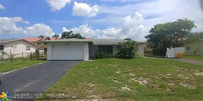 Lauderdale Lakes Single Family Home For Sale: 3501 NW 29th St