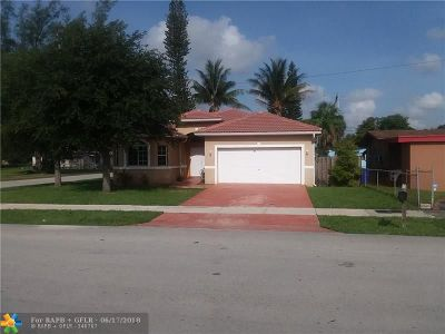 Fort Lauderdale Single Family Home For Sale: 1101 NW 29th Ter