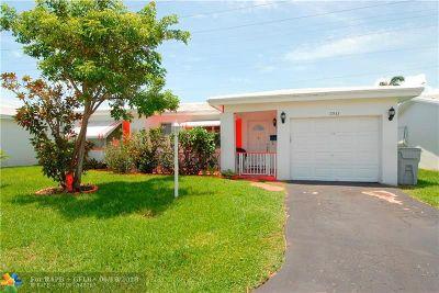 Pompano Beach FL Single Family Home For Sale: $175,000