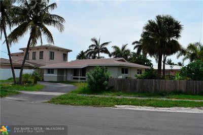 Pompano Beach Single Family Home For Sale: 450 SE 5th Ter