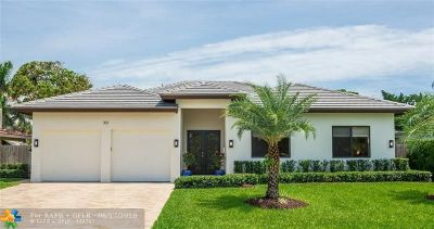 Boca Raton Single Family Home For Sale: 301 NE 25th St