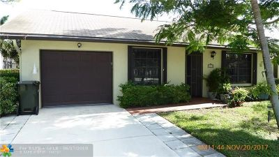 Delray Beach Single Family Home For Sale: 2710 Azalea Ct