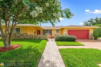 Coconut Creek Single Family Home For Sale: 600 NW 43rd Ave