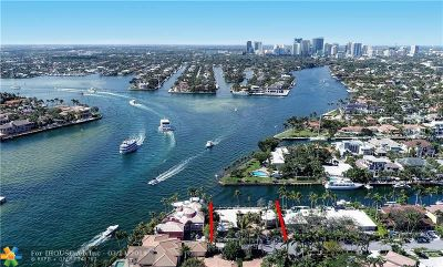 Fort Lauderdale FL Single Family Home For Sale: $4,900,000