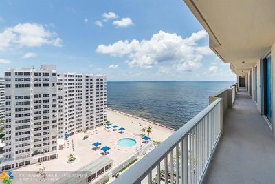 Fort Lauderdale Condo/Townhouse Backup Contract-Call LA: 4300 N Ocean Blvd #15J