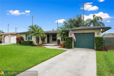Broward County Single Family Home Backup Contract-Call LA: 6330 NW 9th Street