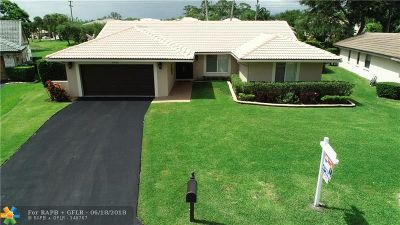 Coral Springs Single Family Home For Sale: 8442 NW 47th Dr
