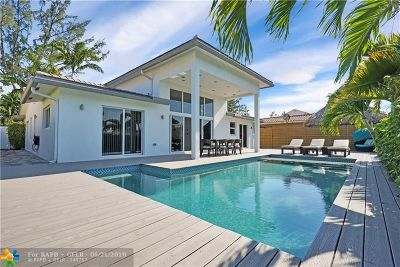 Pompano Beach FL Single Family Home For Sale: $1,240,000