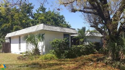 Tamarac Single Family Home For Sale: 8007 NW 75th Ave