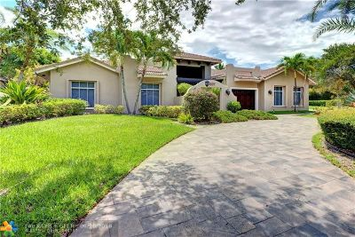 Coral Springs Single Family Home Backup Contract-Call LA: 6107 NW 121st Ave