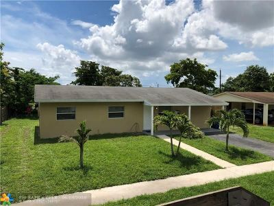 Lauderhill Single Family Home For Sale: 1300 NW 51st Ave
