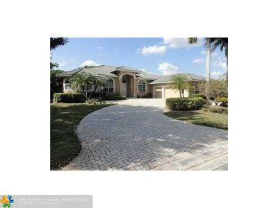 Coral Springs Rental For Rent: 1790 NW 124th Way