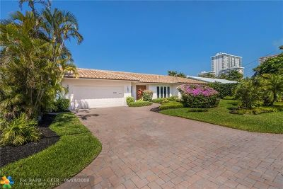 Fort Lauderdale Single Family Home For Sale: 3341 NE 38th St