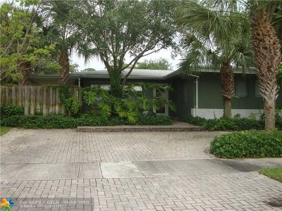Fort Lauderdale Single Family Home For Sale: 1416 SW 15th Ter