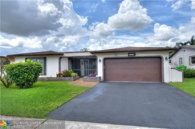 Sunrise Single Family Home For Sale: 11470 NW 42nd St