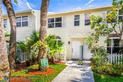 Fort Lauderdale Condo/Townhouse For Sale: 1901 NE 15th Ave #1901