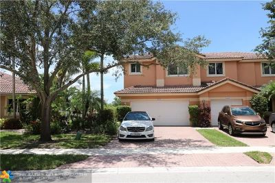 Coral Springs Condo/Townhouse For Sale: 5632 NW 127th Ter #1