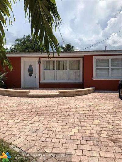 Pompano Beach Single Family Home For Sale: 4221 NE 11th Ter