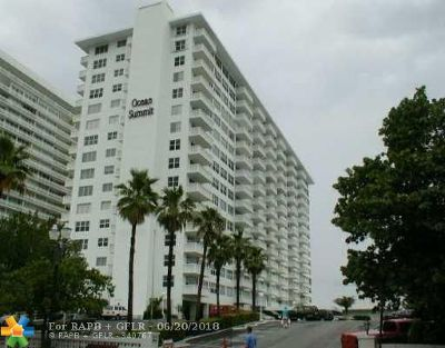 Fort Lauderdale Condo/Townhouse For Sale: 4010 Galt Ocean Dr #1416