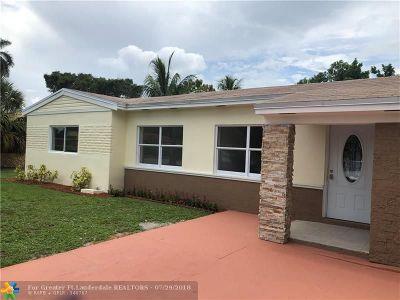 Fort Lauderdale Single Family Home Backup Contract-Call LA: 551 E Evanston Cir