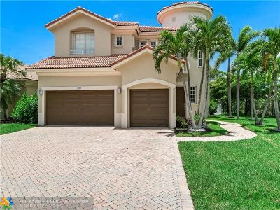 Coral Springs Single Family Home Backup Contract-Call LA: 12209 NW 49th Dr