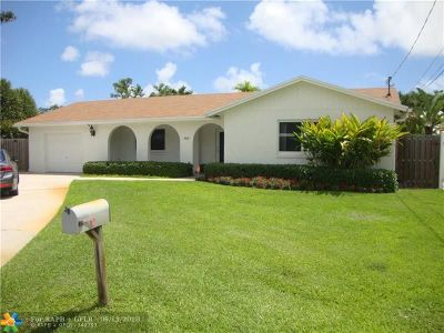 Fort Lauderdale Single Family Home For Sale: 1600 SW 18th Ave