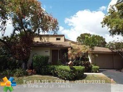 Tamarac Single Family Home For Sale: 8197 Silver Palm Ct