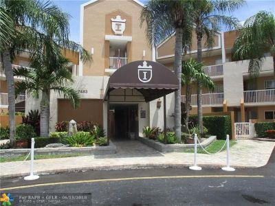 Tamarac Condo/Townhouse For Sale: 7477 Granville Dr #311