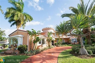 Las Olas Isles Single Family Home For Sale: 2301 Delmar Pl