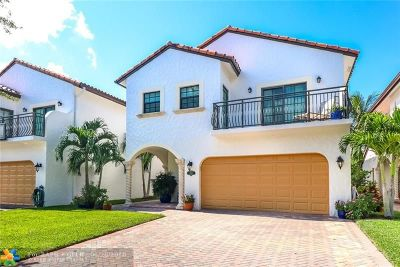 Fort Lauderdale Single Family Home For Sale: 2957 Hidden Harbour St