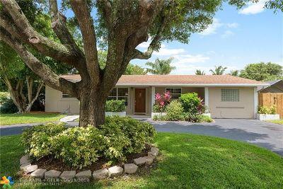 Pompano Beach Single Family Home For Sale: 3001 NE 8th Ter