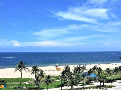Pompano Beach Condo/Townhouse For Sale: 405 N Ocean Blvd #704