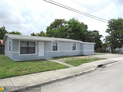 Fort Lauderdale Single Family Home For Sale: 2901 NW 7th Ct