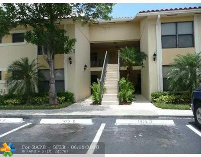 Broward County , Palm Beach County Condo/Townhouse For Sale: 1525 Lake Crystal Dr #A