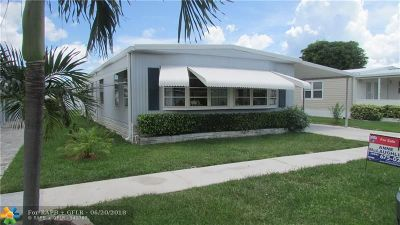 Deerfield Beach Single Family Home For Sale: 151 NW 51st Ct