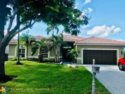 Coral Springs FL Single Family Home For Sale: $479,700