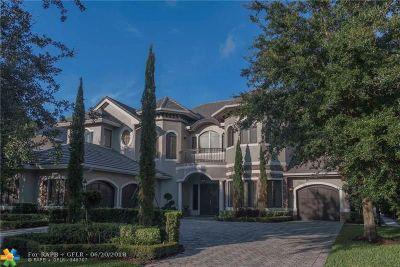 Boynton Beach Single Family Home For Sale: 9018 Stone Pier Dr