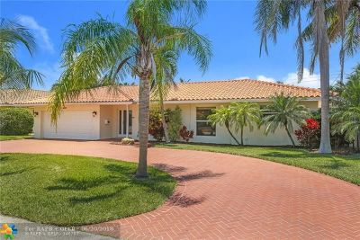 Lighthouse Point Single Family Home Backup Contract-Call LA: 4411 NE 30th Ter