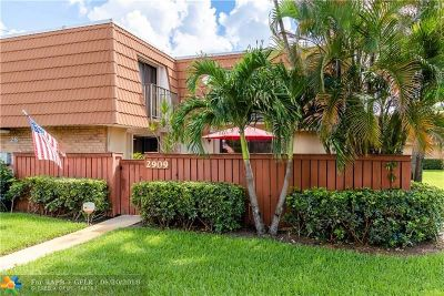 Deerfield Beach Condo/Townhouse Backup Contract-Call LA: 2909 Waterford Dr N #2909