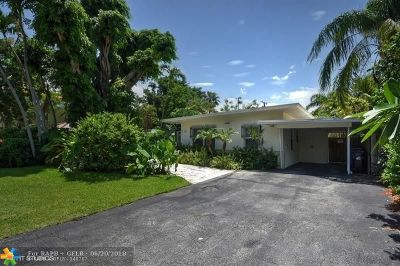 Fort Lauderdale Single Family Home For Sale: 715 NE 15th Ave