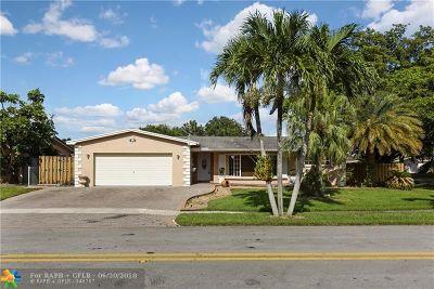 Pembroke Pines Single Family Home Backup Contract-Call LA: 2201 NW 87th Ter