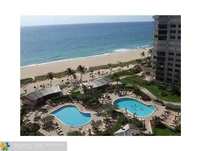 Lauderdale By The Sea Condo/Townhouse For Sale: 5000 N Ocean Blvd #204