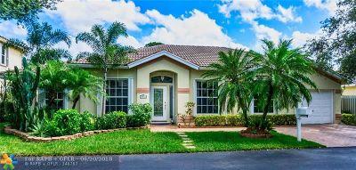 Pompano Beach Single Family Home For Sale: 3512 Sahara Springs Blvd