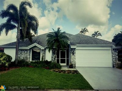 Boca Raton FL Single Family Home For Sale: $399,500