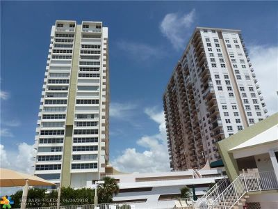 Pompano Beach Condo/Townhouse For Sale: 101 Briny Ave #711