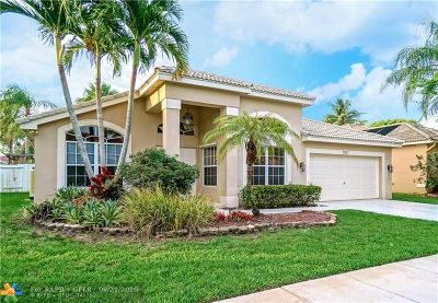 Pembroke Pines Single Family Home Backup Contract-Call LA: 17857 NW 15th Ct