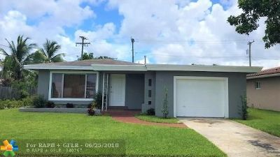 Hollywood Single Family Home For Sale: 3318 Arthur St