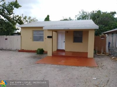Fort Lauderdale Single Family Home For Sale: 2508 NW 9th Pl