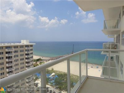 Pompano Beach Condo/Townhouse For Sale: 111 N Pompano Beach Blvd #1905