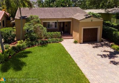 Fort Lauderdale Single Family Home For Sale: 712 SE 11th Ct